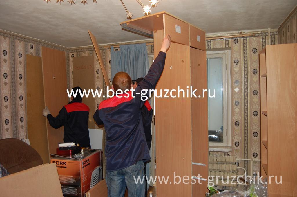 Сборка-разборка и упаковка мебели, грузчики упаковщики для п.